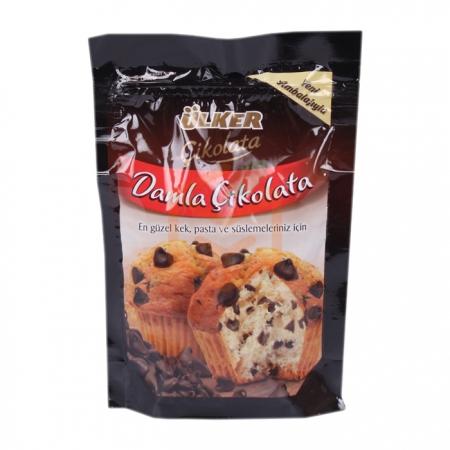 Ülker Bitter Damla Çikolata 150gr -12li Koli | Gıda Ambarı