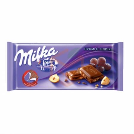 Milka Tablet Üzümlü-fındıklı 80gr-25li Paket (669673)   Gıda Ambarı