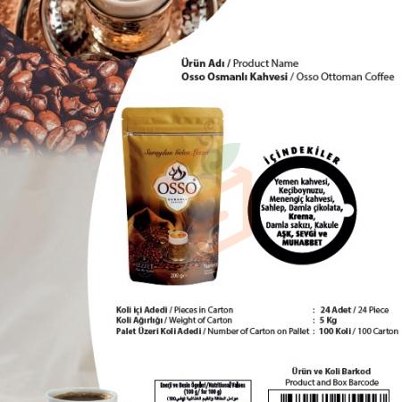 Osso Osmanlı Kahvesi | Gıda Ambarı