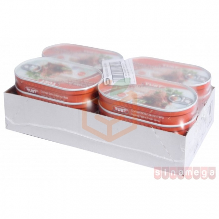Yurt Fileto Soslu Uskumru 160gr - 16lı Koli   Gıda Ambarı