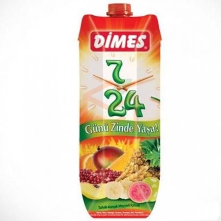Dimes 7/24 Tahıllı Karışık 1lt - 12li Koli | Gıda Ambarı