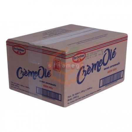 Dr.oetker Cremeole Muz Aro.110gr - 24lü Koli   Gıda Ambarı