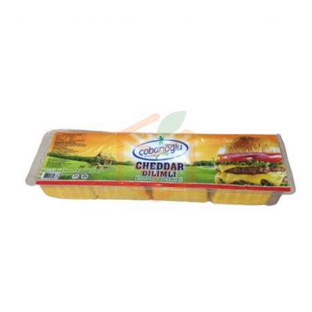 Çobanoğlu Dilimli Cheddar Peyniri 1 Kg | Gıda Ambarı