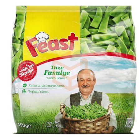 Feast Dondurulmuş Taze Fasulye 450 Gr | Gıda Ambarı