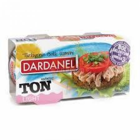Dardanel Ton Lıght 2li 160gr - 12li Paket