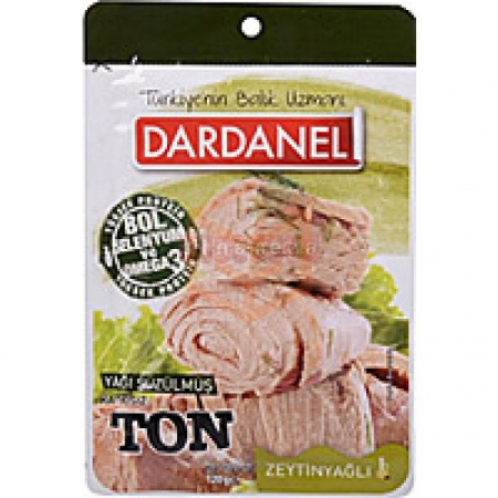 Dardanel Ton(poşet)pouch Zeytin Yağlı 120gr - 12li Paket