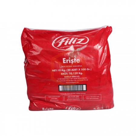 Filiz Makarna Erişte 500 Gr 20' li Koli | Gıda Ambarı