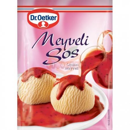 Dr.oetker Meyveli Sos 80.gr - 24lü Paket