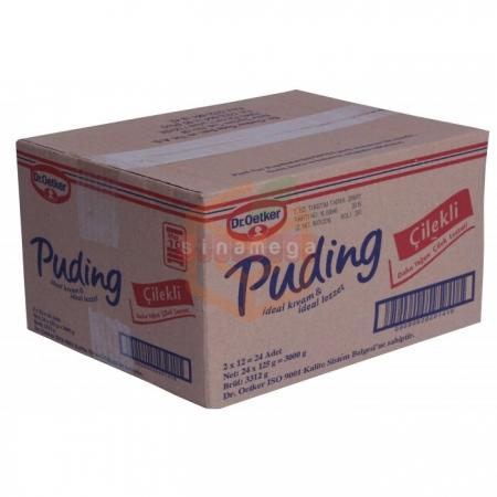 Dr.oetker Puding Çilek 125 Gr 24' lü Paket | Gıda Ambarı