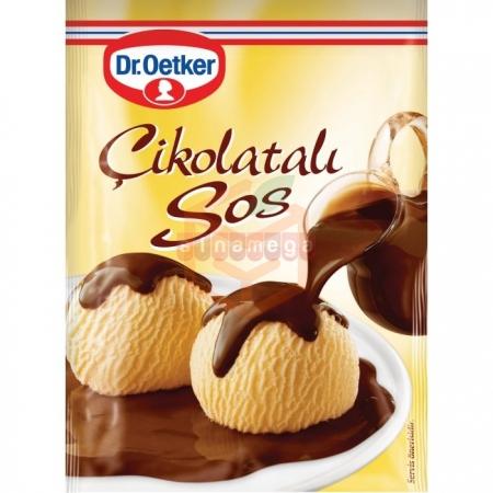 Dr.oetker Çikolata Sos 128 Gr 24' lü Paket