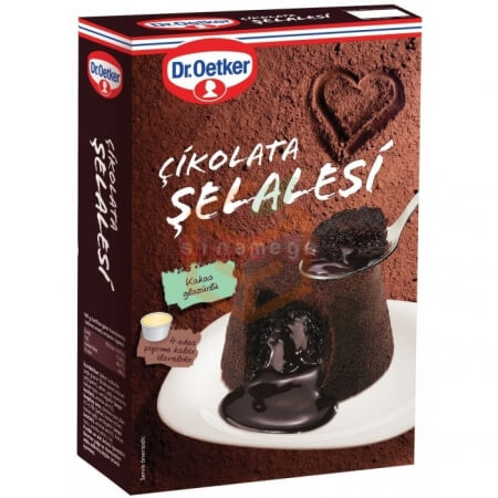 Dr.oetker Çikolata Şelalesi 195 Gr  8' li Koli Toptan -  - Pasta Malzemeleri -