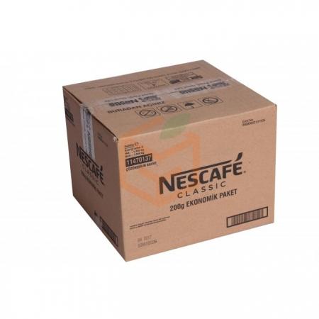Nescafe Classic 200 Gr (poşet)  6' li Koli Toptan - İçecekler - Kahve - Kahve -