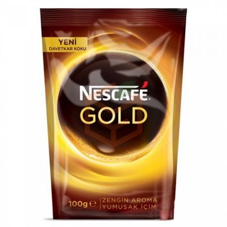 Nescafe Gold 100 Gr (poşet)  12' li Koli | Gıda Ambarı