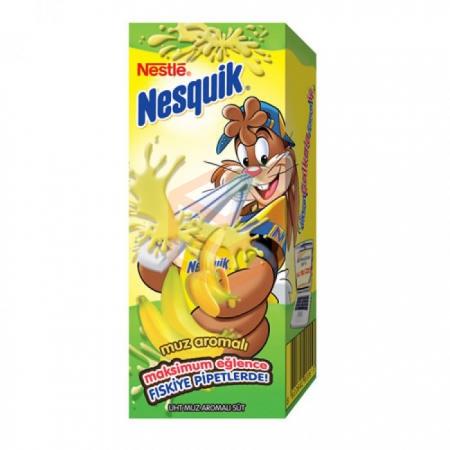 Nestle Nesquik Muzlu Süt 180ml - 27li Koli