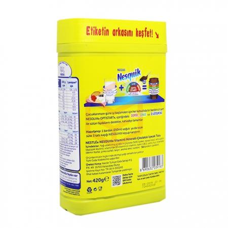 Nestle Nesquik (kutu) kakaolu Toz 420 Gr  12' li Koli | Gıda Ambarı