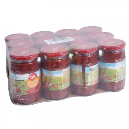 Tat Acı Biber Salça 550 gr  12' li Koli | Gıda Ambarı