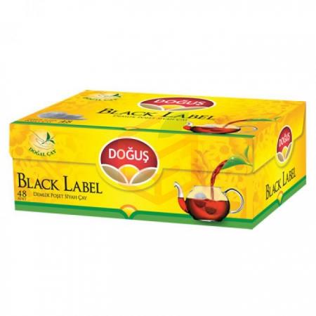 Doğuş Black Label 48' li Demlik Poşet - 16' li Koli Toptan - İçecekler - Çaylar -