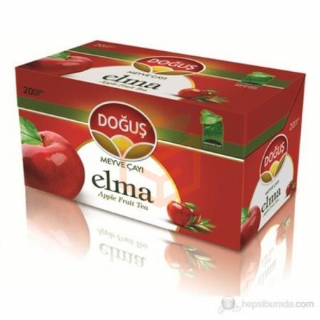 Doğuş Bitki Çayı Elma 20' li - 12' li Koli | Gıda Ambarı