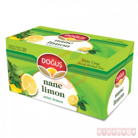 Doğuş Bitki Çayı Nane Limon 20 - 12' li Koli