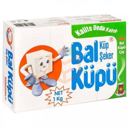 Balküpü Küp Şeker 1kg - 20li Koli