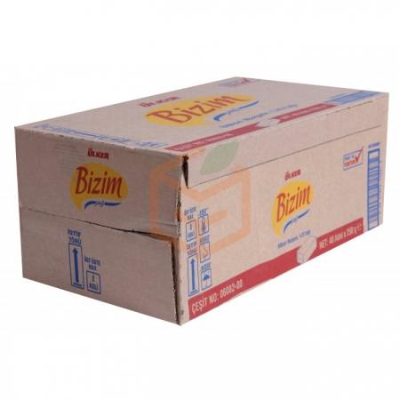 Ülker Bizim Margarin 250 Gr tekli 48' li Koli | Gıda Ambarı