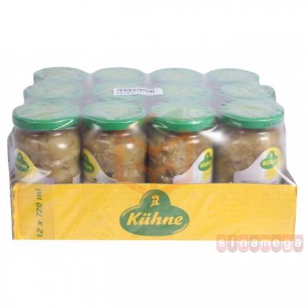 Kühne Közlenmiş Patlıcan 720 ml 12' li Koli | Gıda Ambarı