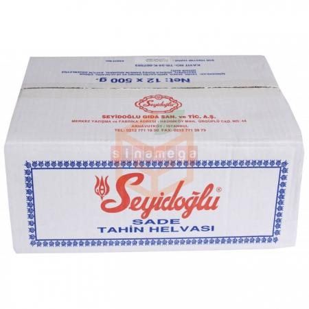 Seyidoğlu Helva 500 Gr Sade 12' li Koli | Gıda Ambarı