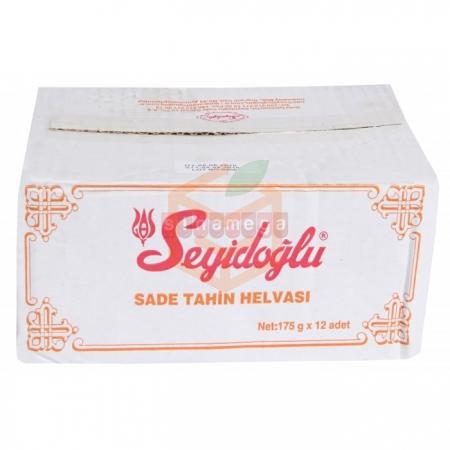 Seyidoğlu Helva 175gr Sade - 12li Koli  | Gıda Ambarı