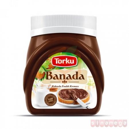 Torku Banada 400 Gr  12'li Koli Toptan - Atıştırmalıklar - Çikolata -