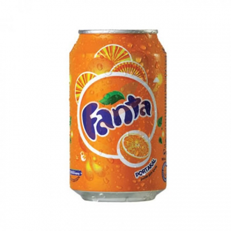 Fanta Kutu 330 ml  24' lü Koli | Gıda Ambarı