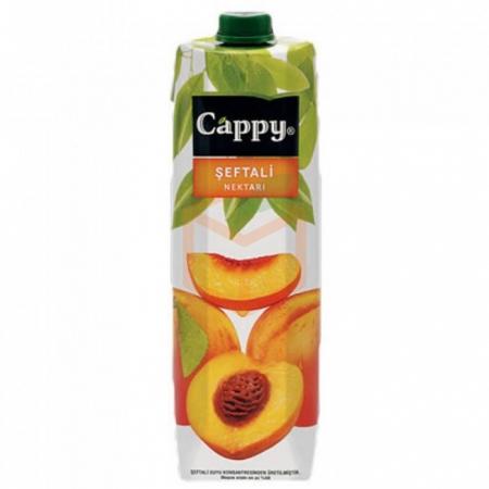 Cappy Şeftali 1 Lt  12' li Koli Toptan - İçecekler - Meyve Suları -
