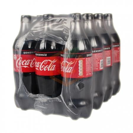Coca Cola Zero 1 Lt şekersiz 12'li Koli | Gıda Ambarı