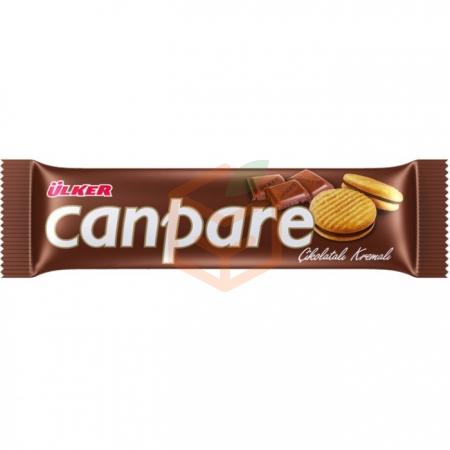 Ülker Canpare Çikolatalı 81gr  - 24lü Paket