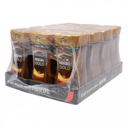 Nescafe Gold 100 Gr Kavanoz  12' li Koli Toptan - İçecekler - Kahve - Kahve -