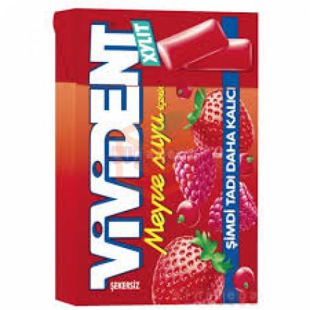 Vivident Meyve Suyu Aromalı- 20' li Paket | Gıda Ambarı