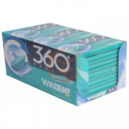 Vivident Yaprak 360° Nane 33 Gr 18' li Paket | Gıda Ambarı