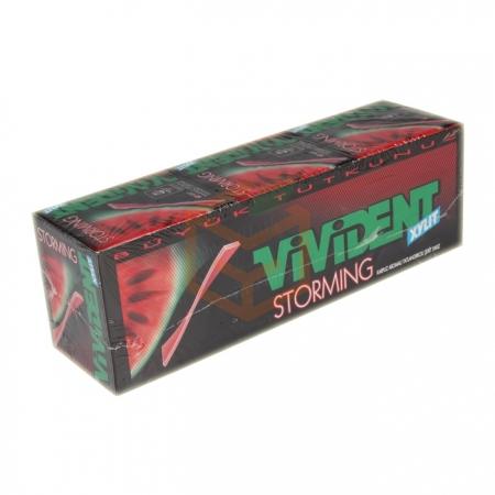 Vivident Storming 33 Gr Karpuz  18' li Paket Toptan - Atıştırmalıklar - Sakız -