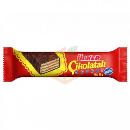 Ülker Çikolatalı Gofret 36 Gr 36' lı Paket Toptan - Atıştırmalıklar - Çikolata -