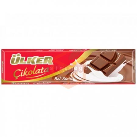 Ülker Sütlü Baton Çikolata 35 Gr 12' li Paket | Gıda Ambarı
