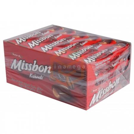 Kent Missbon Classic Kahveli Sütlü 43gr - 24lü Paket    Gıda Ambarı