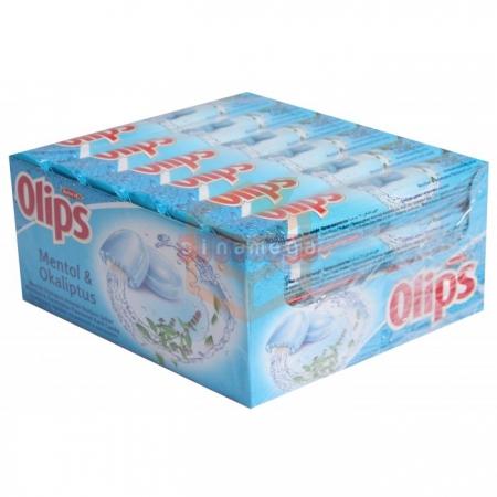 Olips Stick Şeker Mentol-okaliptus 28 gr - 24`lü Paket Toptan Atıştırmalıklar Jelibon