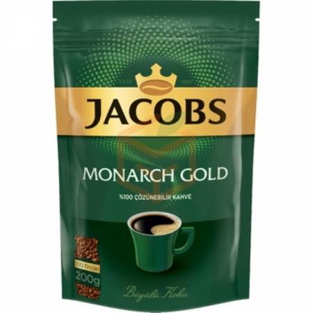 Jacobs Monarch Gold 200 gr Poşet - 6`li Koli Toptan - İçecekler - Kahve -