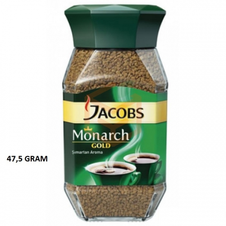 Jacobs Monarch (kavanoz) Gold 47.5gr - 12`li Koli