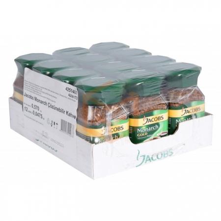 Jacobs Monarch (kavanoz) Gold 47.5gr - 12`li Koli | Gıda Ambarı