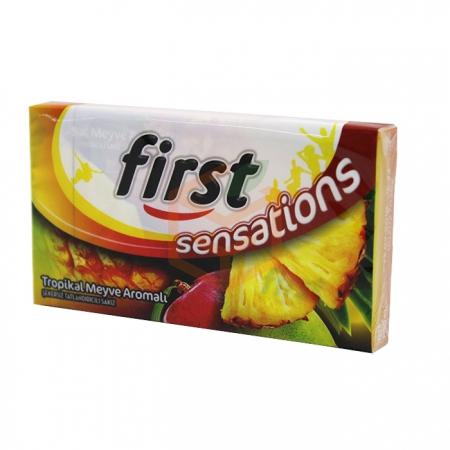 First Sensations 27gr Tropikal Meyve Aromalı - 12li Paket