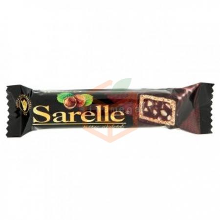 Sarelle Bitter Çikolatalı Gofret 33 Gr 20' li Paket Toptan - Atıştırmalıklar - Çikolata -