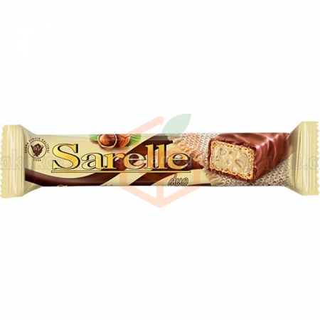 Sarelle Duo Fındıklı  Gofret 33 Gr 20' li Paket | Gıda Ambarı