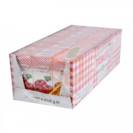 Tamek Domates Püresi 215 Gr 27' li Koli | Gıda Ambarı