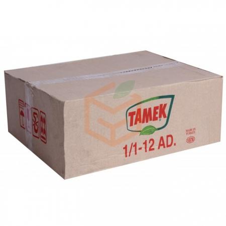 Tamek Haşlanmış Barbunya 1 kg 12' li Koli | Gıda Ambarı