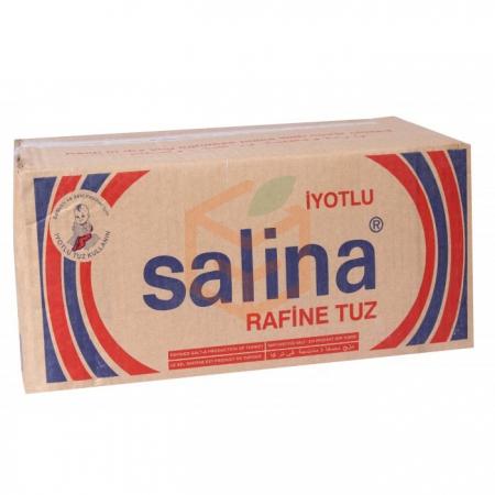Salina Tuz 750 Gr 30' lu Koli Toptan - Baharatlar - Tuz -